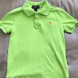 Bright green Polo by Ralph Lauren Polo